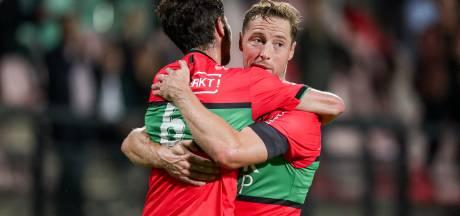 Tactische vondst trainer succesvol: NEC knokt zich naar 3 punten tegen Jong Ajax