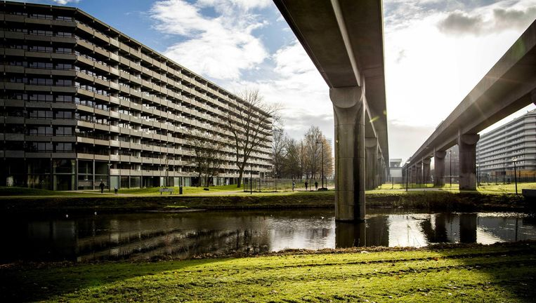 In 2012 werd flat Kleiburg gered van de sloop. De flat staat model voor de herwaardering voor de oude Bijlmer Beeld Freek van den Bergh/ANP