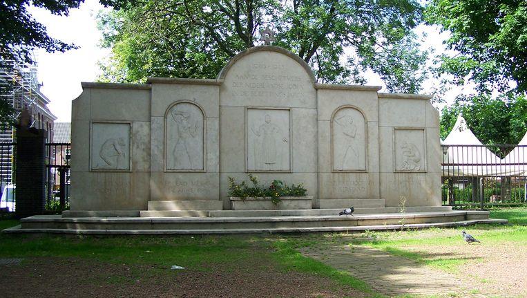 Monument van Joodse Erkentelijkheid, Johan Gustaaf (Jobs) Wertheim. Beeld CC-BY-SA