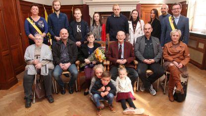 Huwelijksbootje van Roland en Olga vaart 65 jaar