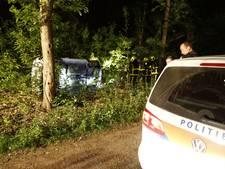 Beschonken bestuurster belandt met auto op zijkant in Heijen