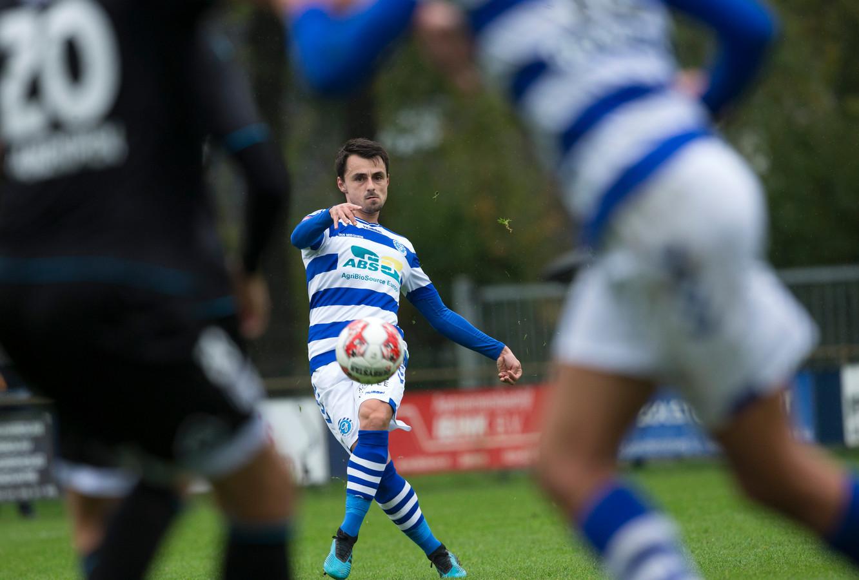 Daryl van Mieghem begint op de bank bij De Graafschap in het uitduel bij Jong FC Utrecht.