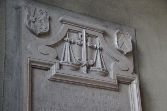 Vrouwe Justitia diende de drugsverslaafde dief van antwoord