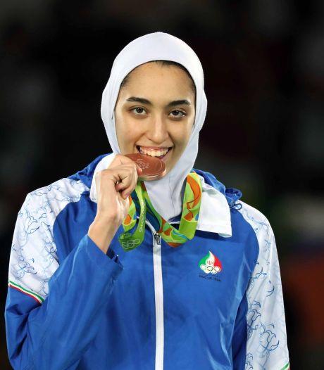 Gevluchte Iraanse medaillewinnares traint in Eindhoven: 'Ze kan nu echt niet meer terug'