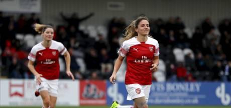 Drie Nederlandse doelpuntenmakers bij Arsenal, ook Van de Donk scoort weer