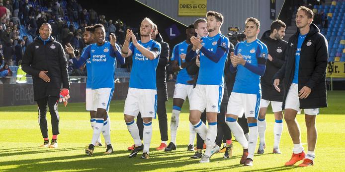 PSV zegevierde ook in Arnhem: 2-4