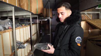"""Urban Explorers dringen binnen in leegstaand winkelcomplex in Zwevezele: """"Er ligt hier voor duizenden euro's aan sportkleren en ander materiaal"""""""