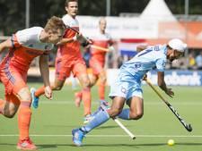 Hockeyers opnieuw onderuit tegen India