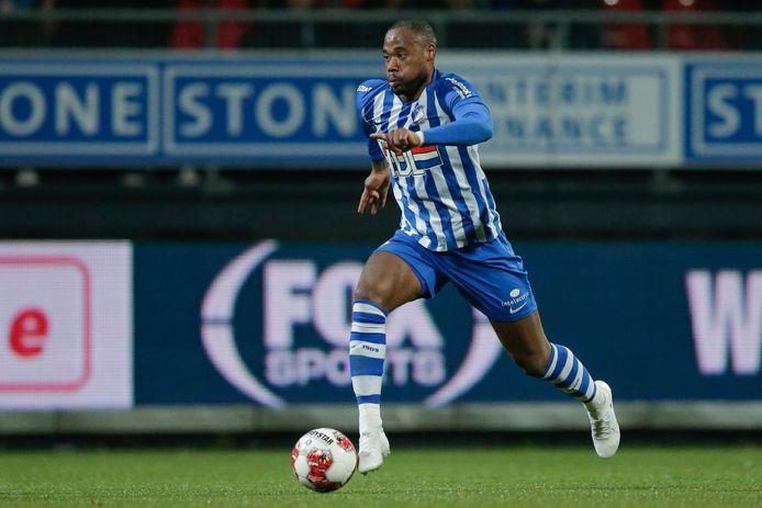 Alvin Daniëls, aanvaller van FC Eindhoven.