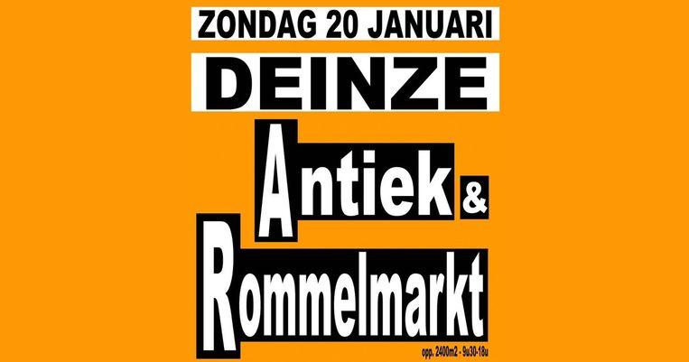 Antiek & Rommelmarkt in Deinze.
