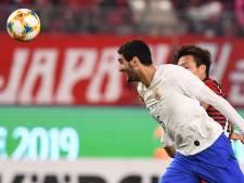 Fellaini marque contre Dembele
