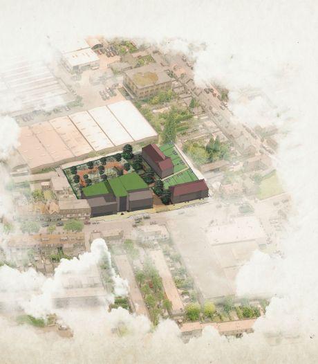 Zorgcomplex en koophuizen op plek van vervallen loodsen in Tilburg