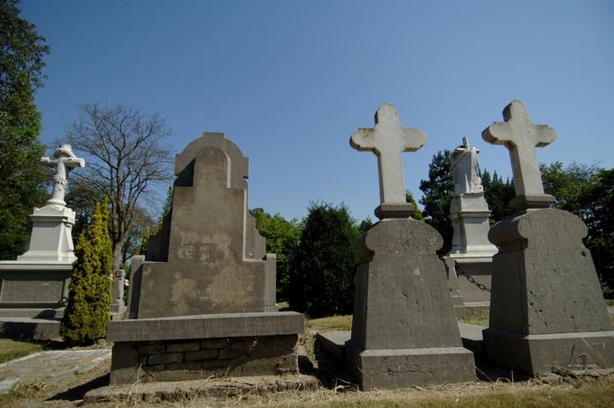 De katholieke begraafplaats in Middelburg.