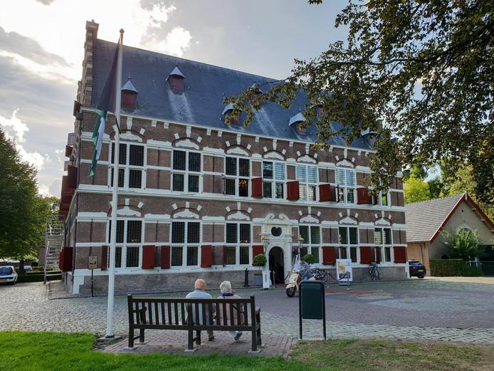 Het Mauritshuis in Willemstad.