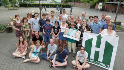 'Helden voor Helden' op College ten Doorn brengt meer dan 8.000 euro op voor vzw Heldenhuis