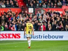 Bruns wil in winter weg bij Vitesse: 'Ik kan niet leven met mijn huidige rol'