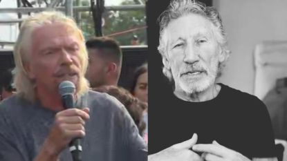 VIDEO. Roger Waters clasht met Richard Branson over 'Live Aid' voor Venezuela