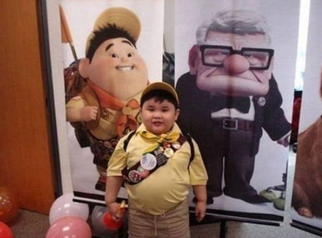 Russell uit 'Up'