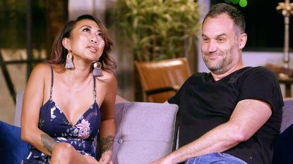 VIDEO. Bruid die aanstaande compleet vernederde in 'Blind getrouwd Australië' kan gevoelens plots niet meer de baas