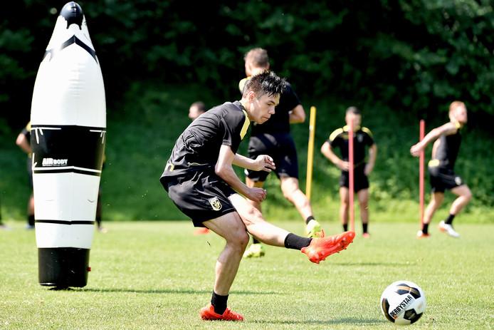 Mitchell van Bergen van Vitesse.