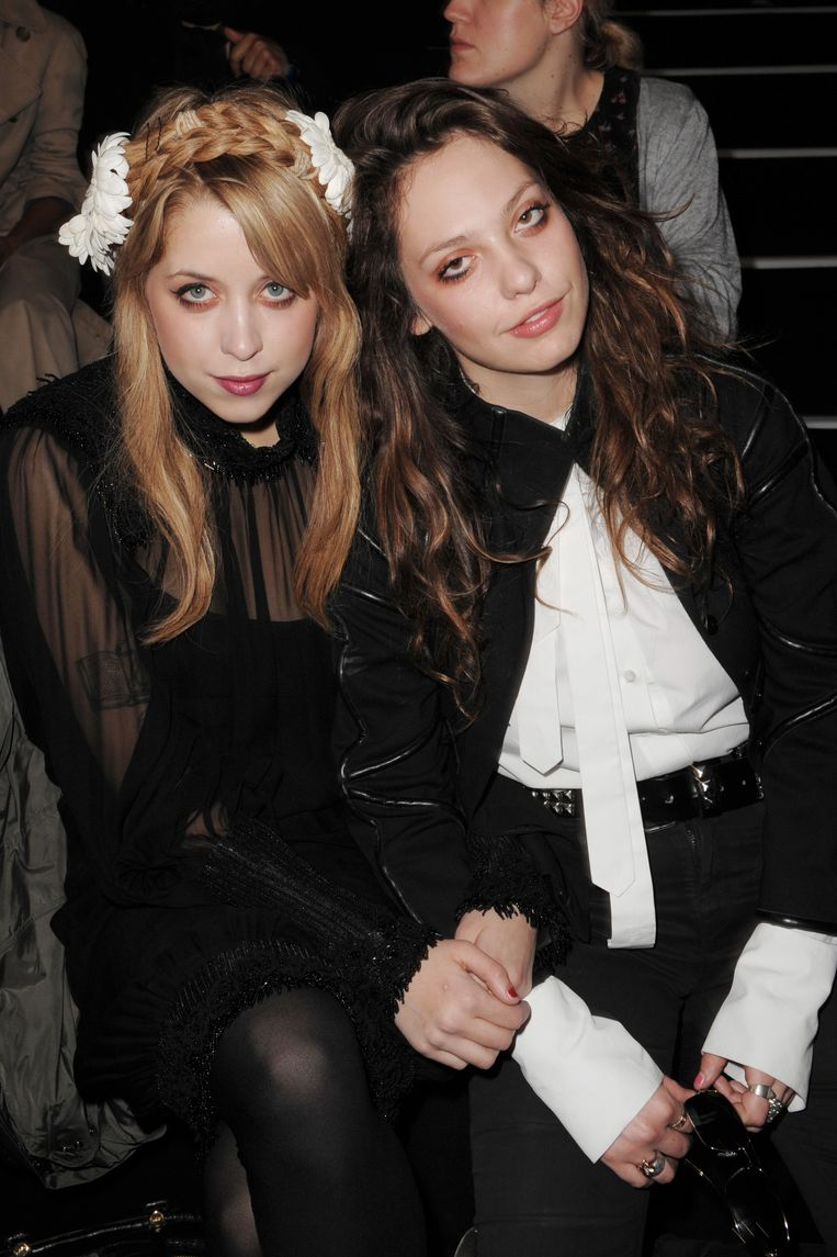 Peaches and Fifi Trixibelle Geldof in Parijs.