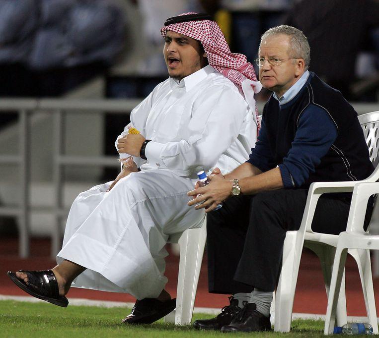 Dimitri Davidovic in Qatar.