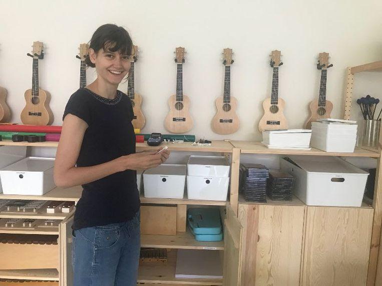 Mirjam De Wit, muzieklerares in de Freinetschool