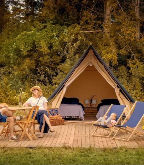 Pop-up camping in Zeewolde heeft iets unieks: halfpension in een tent