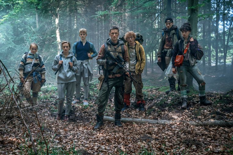 This image released by Netflix shows a scene from the Netflix series,