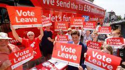 Brexit-campagne moet boete betalen voor gesjoemel