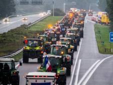 Boeren weg uit Den Haag, avondspits voorbij