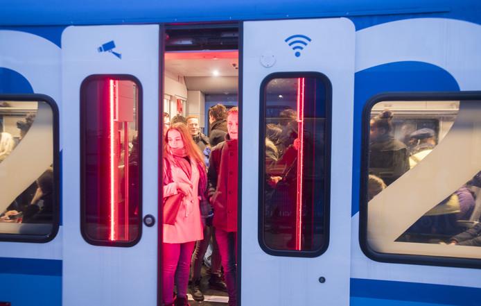 De trein tussen Zwolle en Enschede