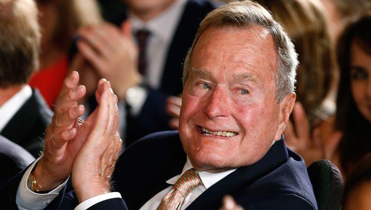 De 90-jarige George H.W. Bush