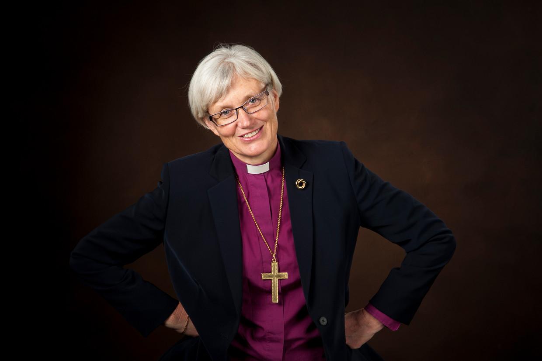 Antje Jackelén, aartsbisschop van de Zweedse lutherse kerk.