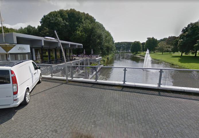 Het Develpaviljoen in Zwijndrecht.