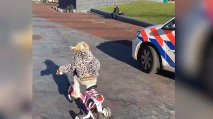 Een week goed nieuws: Pomme (3) wint wedstrijdje tegen politie en andere verhalen die je blij maken