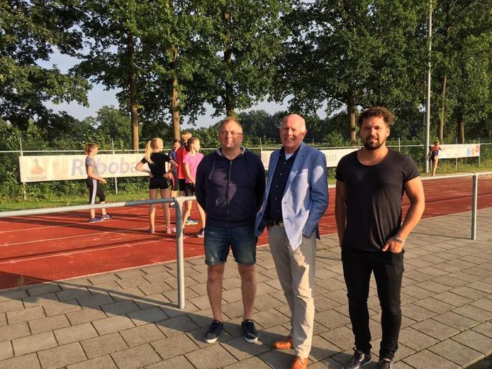 Van links naar rechts: Johan Roetenberg, Joop Hassink en Ron Naafs