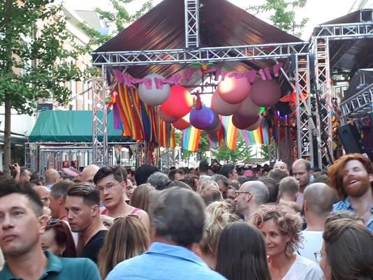 Roze Woensdag tijdens de Vierdaagsefeesten bij ThomTom.