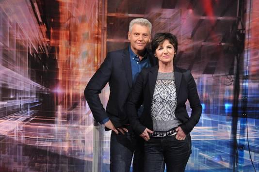 Siebrand Niessen en Martine van Os, het presentatieduo van Tijd voor MAX