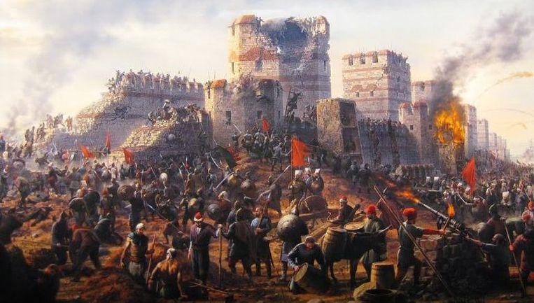 Niet de oude moslims, maar wel de klimaatomslag is wellicht verantwoordelijk voor het verval van het Oost-Romeinse Rijk.