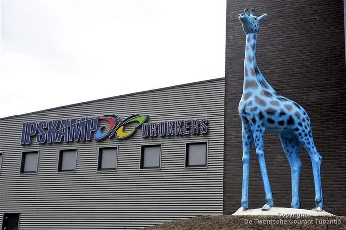 Het pand van Ipskamp Drukkers in Enschede.