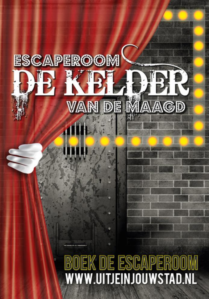 Poster van de eerste escape room