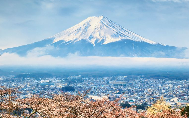 De Japanse berg Fuji Beeld