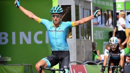 Peloton laat zich weer verrassen: vluchter Magnus Cort Nielsen kraait victorie in vijfde rit BinckBank Tour, Mohoric blijft leider