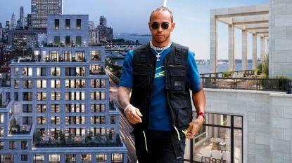 Lewis Hamilton vertoeft in quarantaine, maar in zijn geval zal dat wel meevallen: zijn vier 'vluchtadressen'