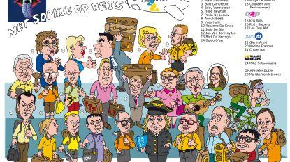 Herken jij ze allemaal? Blauwtong steekt de draak met gemeenteraadsleden