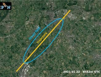 Meteoriet neergestort in België. Ligt hij in jouw achtertuin?