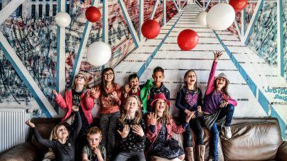 Kinderraad houdt geslaagd feestje voor de kinderen