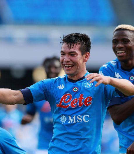 Oud PSV'ers scoren erop los, Lozano nu mede-topscorer in Serie A