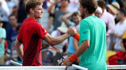 Goffin kraakt taaie Spanjaard in drie sets en mag zich opmaken voor clash met Federer